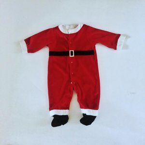 Carter's Santa Footed One-PIece
